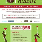 Sip and Savour, March 27 2014 in Sidney BC.