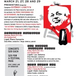 Ligeti Festival celebrates composer's centenary in Victoria BC. March 21-29 2014.