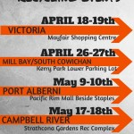 FREE Community Recycling Events on Vancouver Island April May 2014
