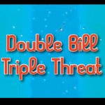 Double Bill Triple Threat by the CCPA Alumni Troupe May 30-June 14 2015. A review.