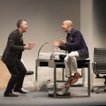 Speed the Plow by David Mamet at the Belfry Theatre September 15-October 11, 2015. A review.