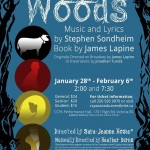 Into The Woods by Company C January 28-February 6, 2016. A preview.