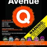 Avenue Q by the CCPA Alumni Company May 31-June 17 2017. A review.