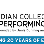 The Canadian Collage of Performing Arts 20th anniversary season 2017-2018