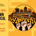 Urinetown at Langham Court Theatre January 17-February 3, 2018. A review.
