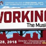 Working the Musical by the Canadian College of Performing Arts. Preview.