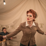 Pearle Harbour's Chautauqua at OUTstages 2018. Interview with Justin Miller.